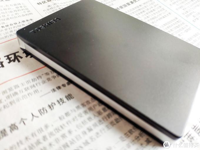 东芝Slim移动硬盘评测:小巧轻薄,小身材大作为
