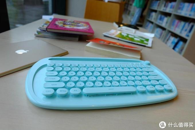 萌化了的小礼物——送TA富德K510D无线蓝牙键盘