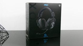 罗技Pro X耳机细节展示(耳罩|麦克风)