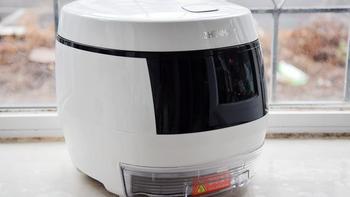 臻米脱糖电饭煲开箱展示(尺寸|按键|出口|排气阀|内胆)