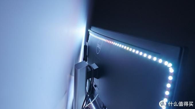糟糕!光漏到墙上了!——显示器灯带介绍