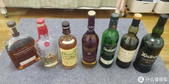 从whiskey L回来,整理了下家里的库存