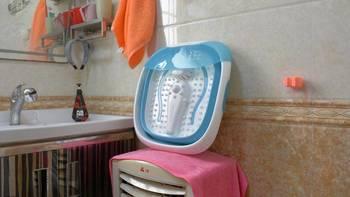 乐伽折叠足浴盆按摩体验(加热|水位线|操作)