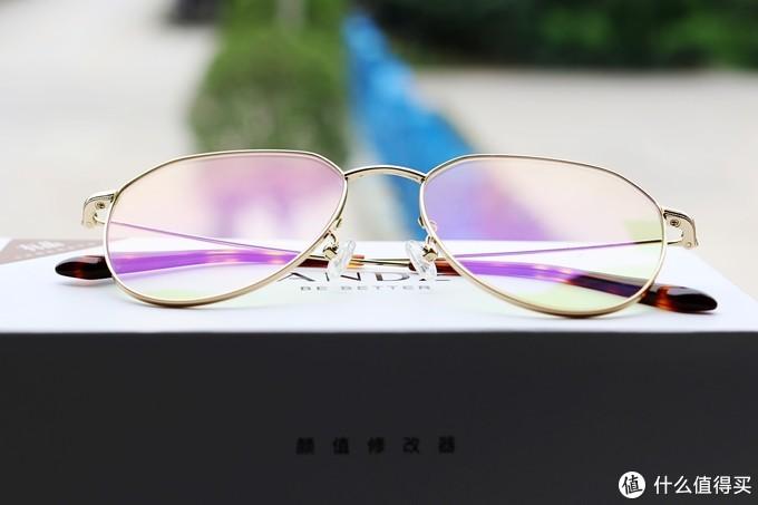 护眼与颜值共存,ANDZ防蓝光眼镜轻评测