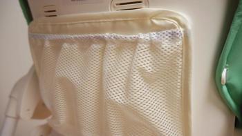 小米折叠餐椅操作体验(安全带|网兜|做工)