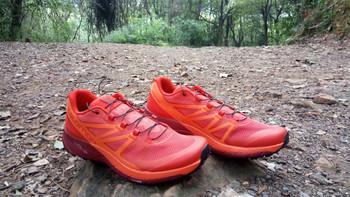 Salomon Sense Ride越野跑鞋外观展示(鞋头|鞋面|鞋舌|鞋带|鞋垫)