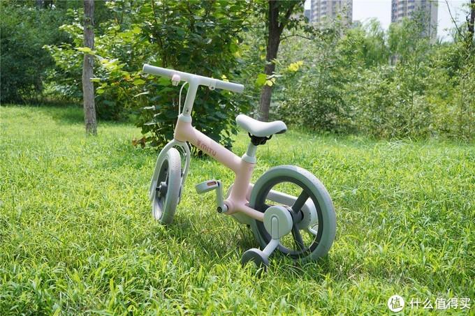 宝宝的幸福童年怎么能够少的了它---米兔儿童自行车14寸分享