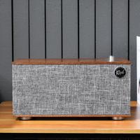 杰士木质音箱开箱展示(旋钮|开关|脚垫)