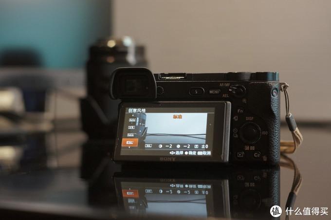 照相机参数设置特写