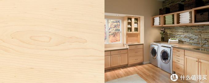硬枫木图样与室内案例
