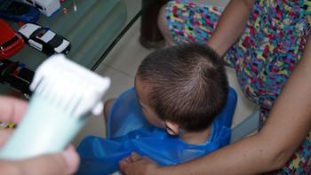 易简HK818婴儿理发器使用总结(刀头|理发|充电头)
