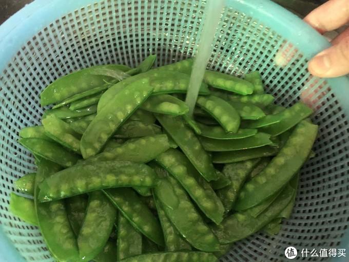 荷兰豆炒叉烧