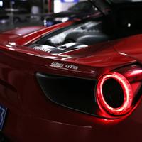 法拉利488GTB跑车驾驶体验(方向盘|刹车|转向|排气|变速箱)