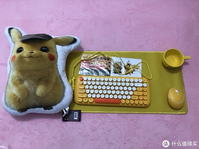 萌趣十足--威漫优创仲夏萌心键鼠套装展示秀