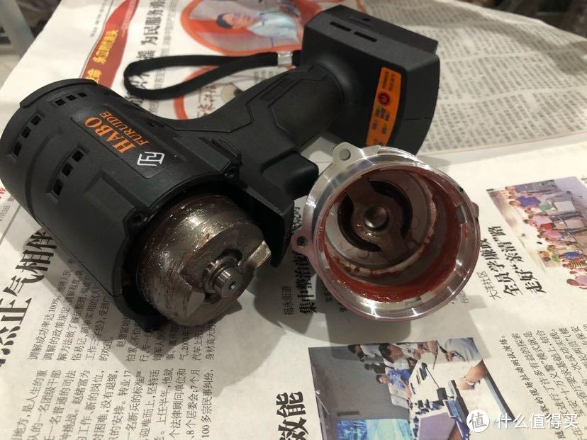 达文西之HABO福瑞德20v无刷电动扳手冲击扳手拆解保养教程