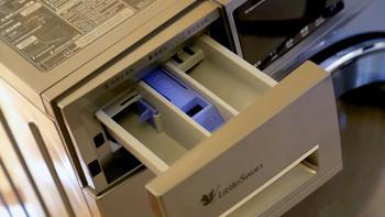 小天鹅水魔方滚筒洗衣机外观展示(面板|加注口|旋钮|排水口|底座)