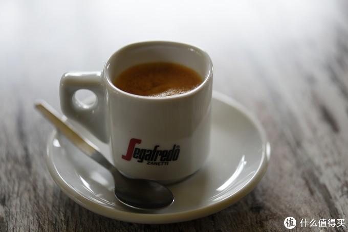 咖啡还是相当正宗的。