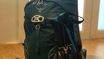Osprey户外背包使用总结(重量|容量|安装)