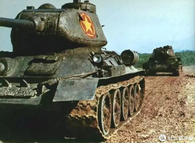 越南战争中,越南人民军的T-34/85