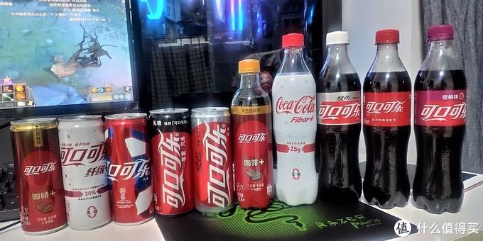 市面商超上常见的五种可口可乐
