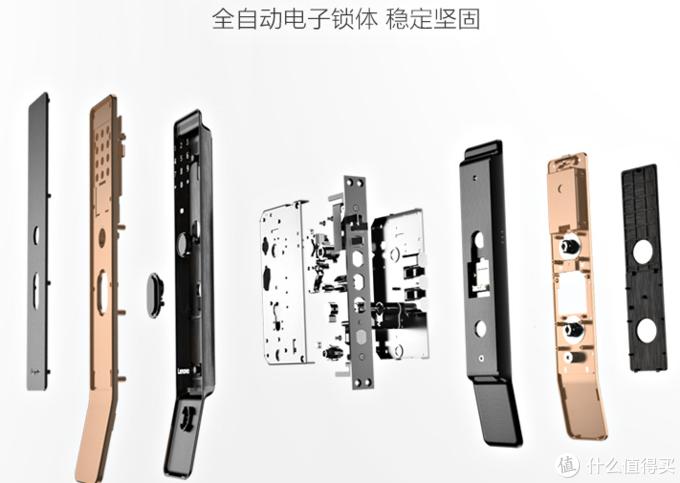 """联想Lenovo全自动智能门锁X1,全新""""潮上翘""""设计,实现""""与家握手"""""""