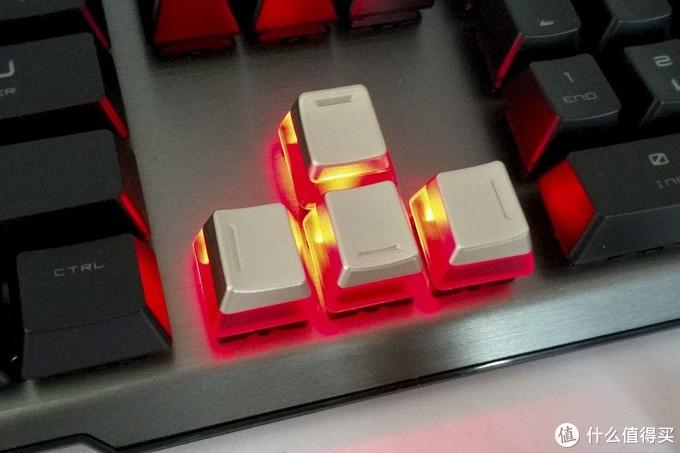 军规星龙魂红——微星次旗舰机械键盘 Vigor GK60(红轴) 开箱