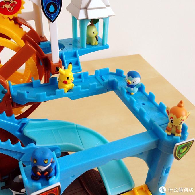 玩具测评丨BANDAI万代神奇宝贝旋转城堡盒玩