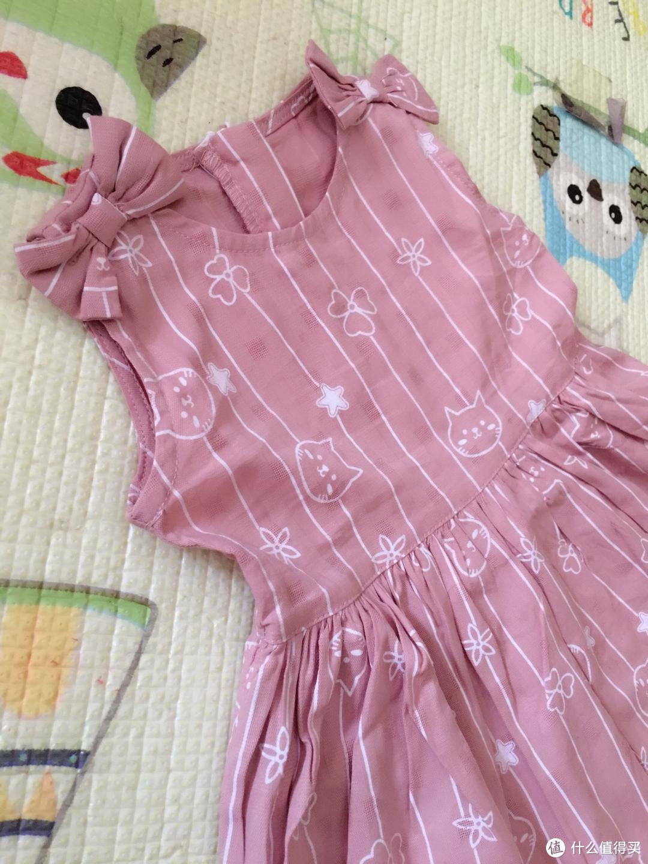 学院风 沙滩风 都是小公主-笛莎mini连衣裙晒单