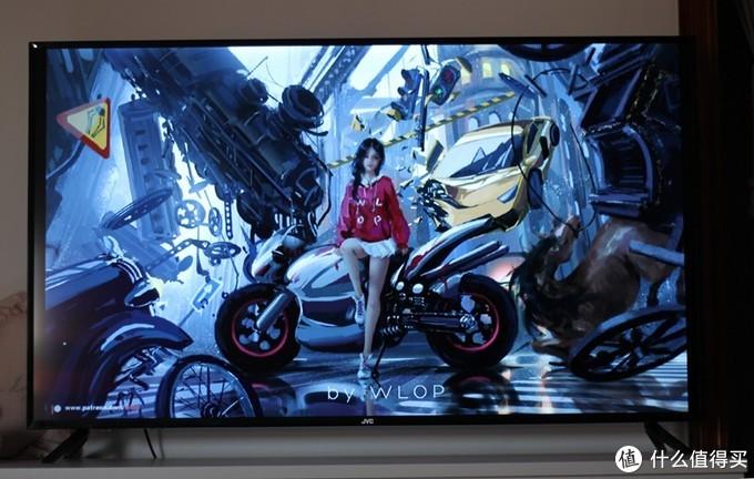 55寸的4K电视才1300多元?JVC LT-55MCS780智能电视评测报告