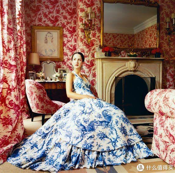 还在穿碎花?法式窗帘印花火了,时髦又高级,换季穿刚合适!