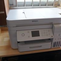 爱普生L6176打印机外观展示(输出盒|纸盒|接口|按键)
