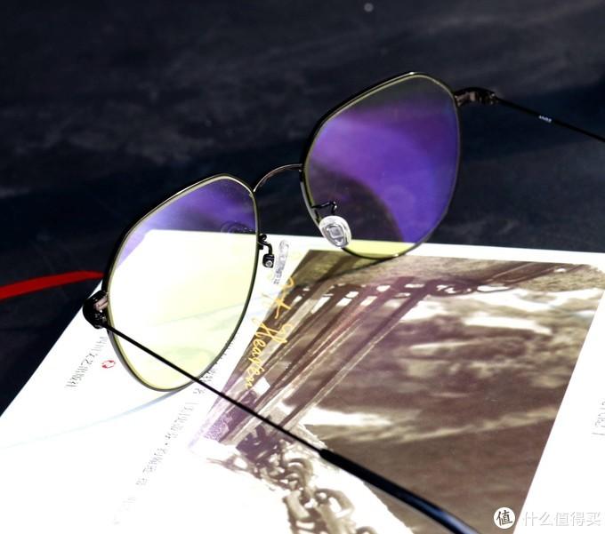 是心动的感觉,ANDZ金属几何框防蓝光眼镜