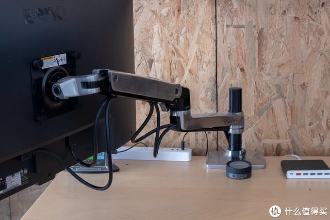 人体工学桌面系统改造,双屏双主机带来舒适高效办公体验