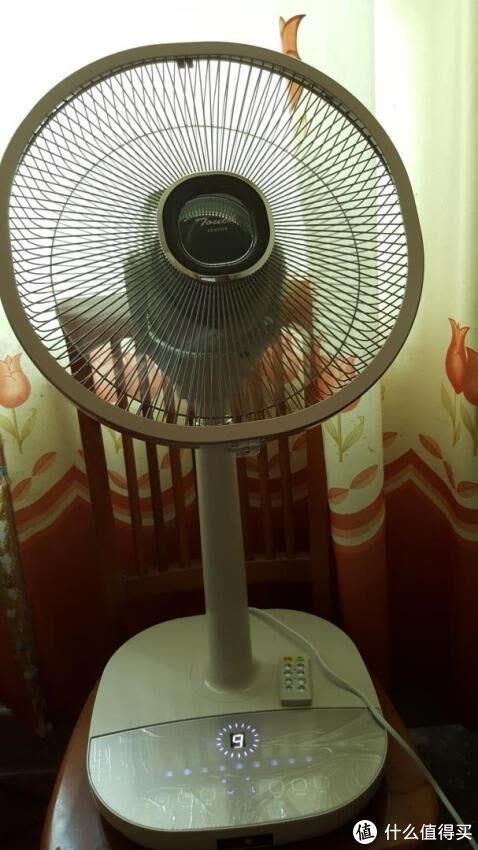 森田(MORITA)智能触摸式静音直流电风扇 落地扇/空气循环扇/台扇/空调伴侣/上下左右自动摇头 SZ-DTR30G