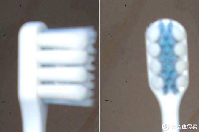 不过这款牙刷的问题还是塑料底座太厚