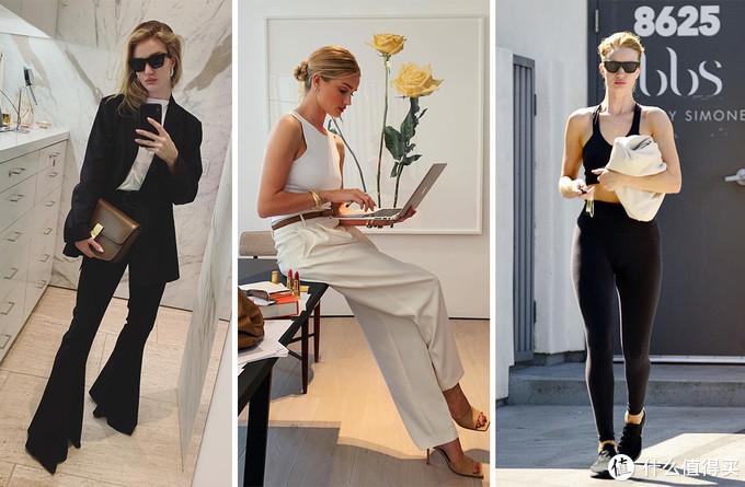 基础款如何穿出高级感?超模Rosie的这3招,让衣服看起来很贵!
