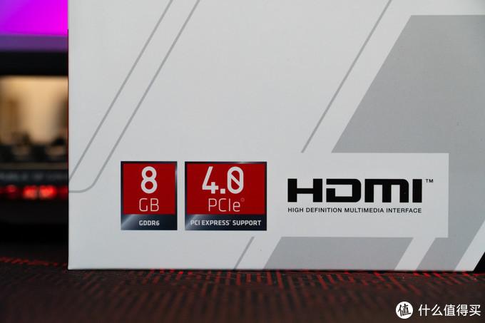 8GB DDR6显存,支持PCIE 4.0