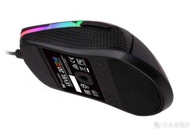 支持 Alexa 语音操控:Thermaltake 曜越 发布 Level 20 RGB 游戏鼠标