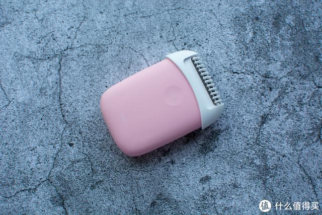 须眉迷你顺滑剃毛器评测 粉萌造型,可全身水洗