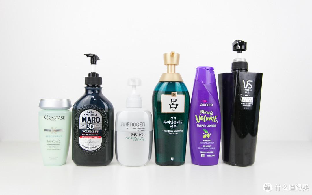 6款洗发水真实体验,告诉你油性发质男士洗发水怎么选