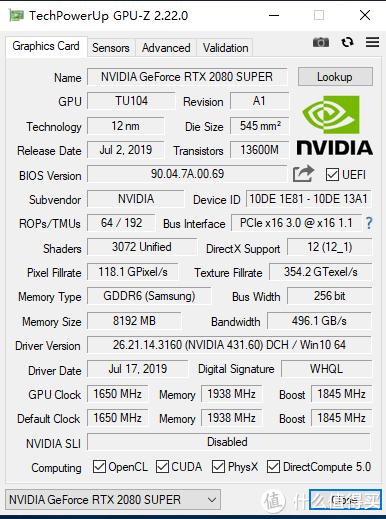 GPU-Z信息