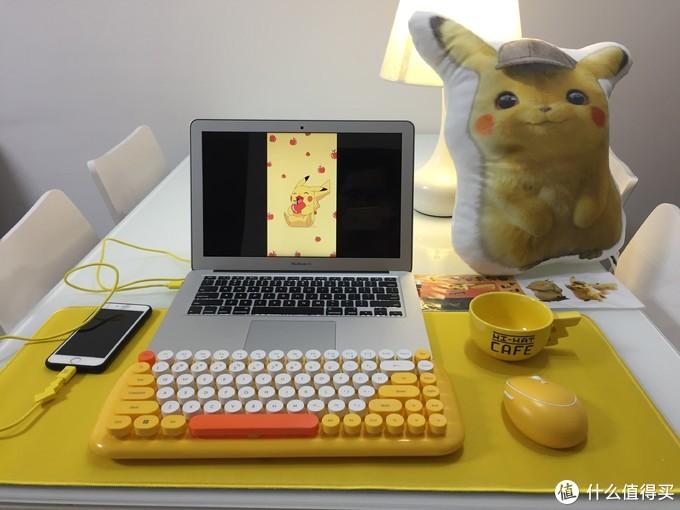 皮卡皮卡——威漫优创WM3C-17仲夏萌心皮卡丘键鼠套装体验