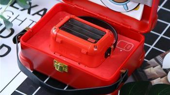 Divoom玛奇朵小音箱外观展示(机身|按键|充电线|天线)