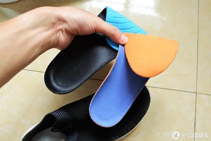 鞋垫,下面的小米,都是布+泡沫