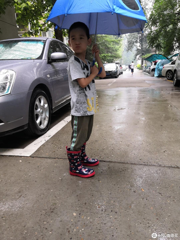 雨天小能手——hatley儿童雨鞋