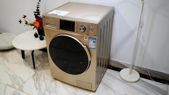 小天鹅洗衣机外观展示(面板|电源线|排水管)