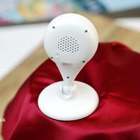 360智能摄像机夜视版外观介绍(扬声器|麦克风|接口|按键|插槽)