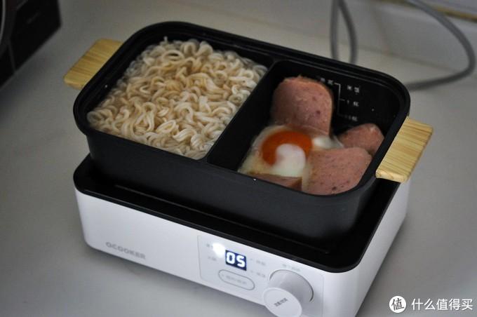 单身青年除了左手还有圈厨——一口锅一顿饭的圈厨午餐机测评