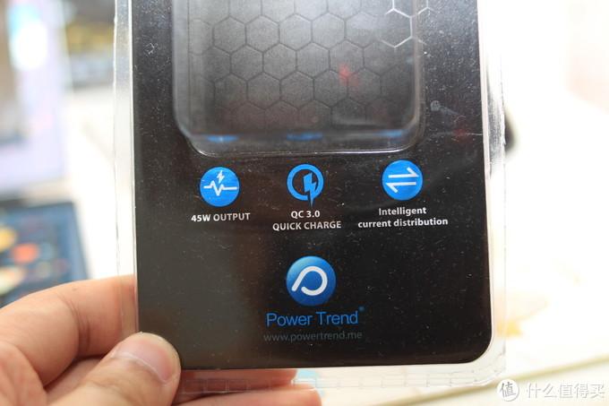 淘到的,也有实在货!-PowerTrend 45W QC3.0 type-C充电器使用感受