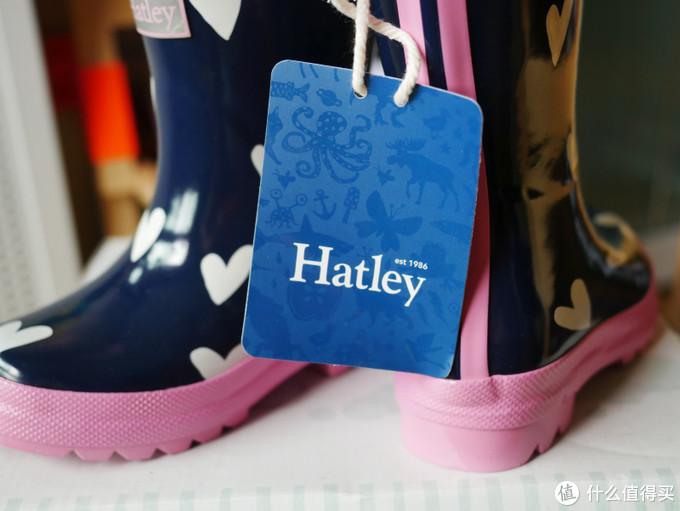 让孩子愉快的踩水坑, Hatley儿童雨鞋评测